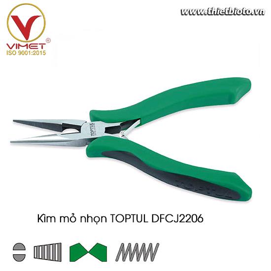 Kềm nhọn thiết bị điện TOPTUL DFCJ2206