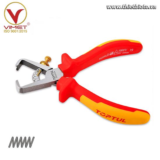 Kìm tuốt dây cách điện VDE TOPTUL DGCD2206