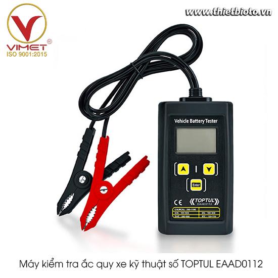 Máy kiểm tra ắc quy xe kỹ thuật số TOPTUL EAAD0112