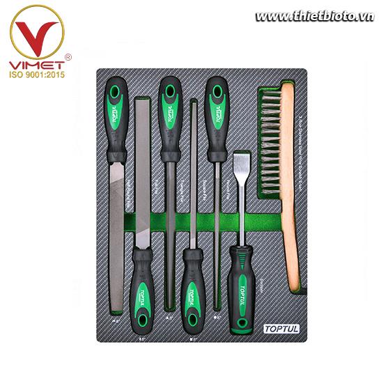 Khay dụng cụ cầm tay 7 chi tiết Toptul GEB0705