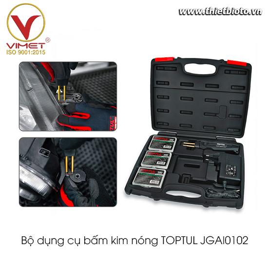 Bộ dụng cụ sửa chữa bấm kim nóng TOPTUL JGAI0102