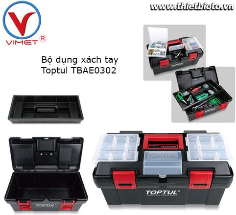 Hộp đựng dụng cụ đa chức năng Toptul TBAE0302