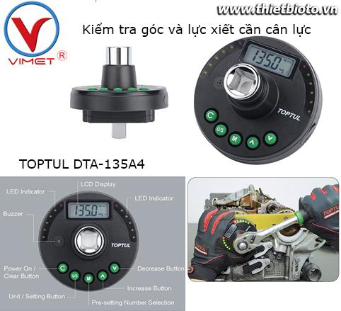 Đồng hồ đo góc và lực xiết Toptul DTA-135A4