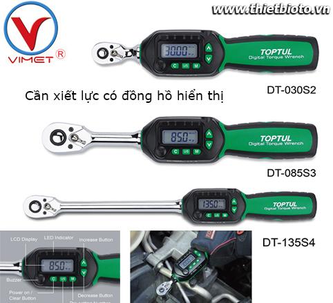 Cần xiết lực có đồng hồ Toptul DT-030S2