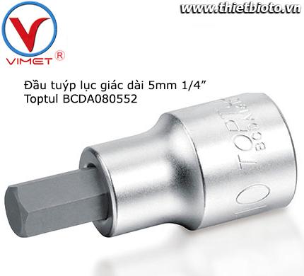 Đầu tuýp lục giác dài 5mm Toptul BCDA080552