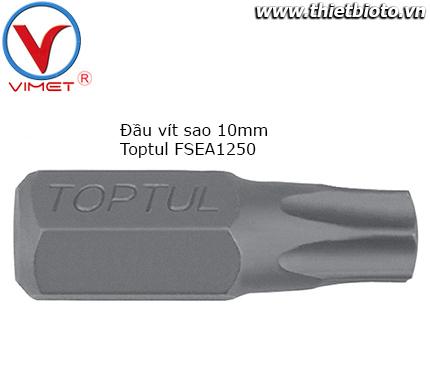 Đầu vít sao 10mm Toptul FSEA1250