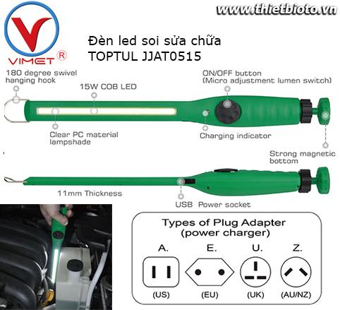 Đèn led soi sửa chữa TOPTUL JJAT0515