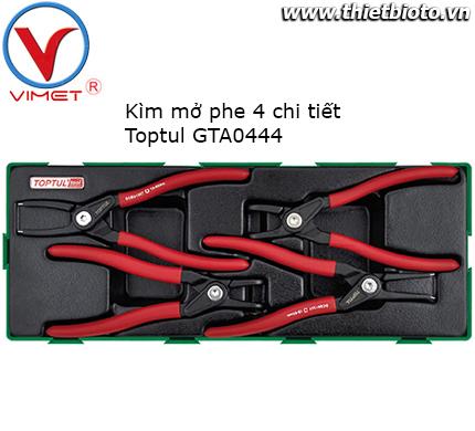 Bộ kìm mở phe 4 chi tiết Toptul GTA0444