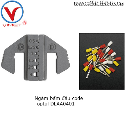 Ngàm bấm đầu code Toptul DLAA0401