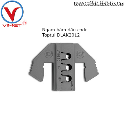 Ngàm bấm đầu code Toptul DLAK2012