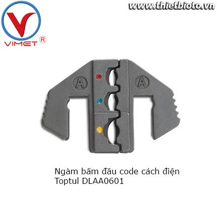 Ngàm bấm đầu code cách điện Toptul DLAA0601