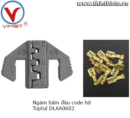 Ngàm bấm đầu code hở Toptul DLAA0602