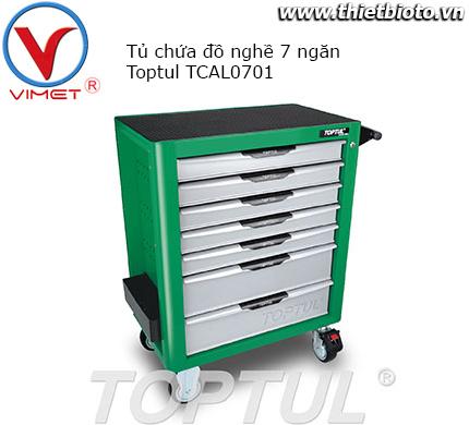 Tủ đựng dụng cụ 7 ngăn cao cấp chống lật Toptul TCAL0701