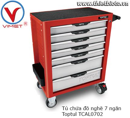 Tủ dụng cụ 7 ngăn cao cấp chống lật Toptul TCAL0702