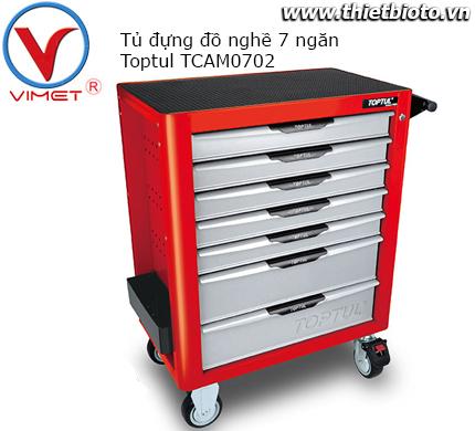 Tủ đựng dụng cụ 7 ngăn Toptul TCAM0702