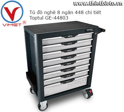 Tủ đồ nghề 8 ngăn 448 chi tiết Toptul GE-44803