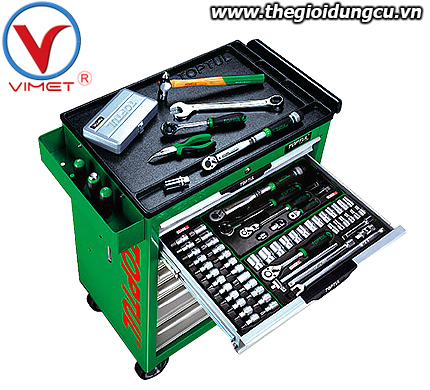 Tủ đồ nghề 7 ngăn 218 chi tiết Toptul GT-21807
