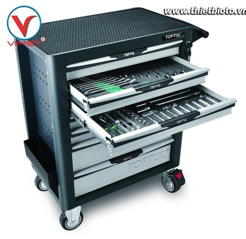Tủ đồ nghề sửa chữa 7 ngăn 261pcs Toptul GV-26109