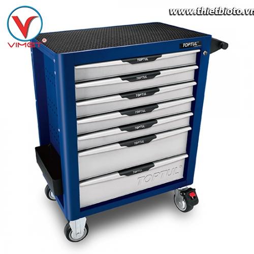 Tủ đồ nghề sửa chữa 7 ngăn 261pcs Toptul GV-26110