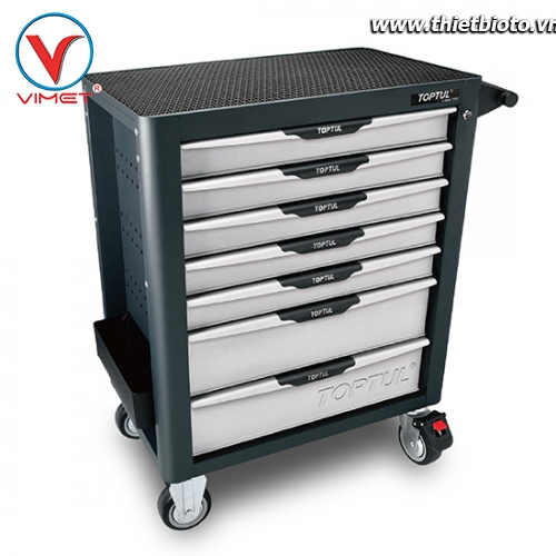 Tủ đồ nghề sửa chữa 7 ngăn 280pcs Toptul GV-28009