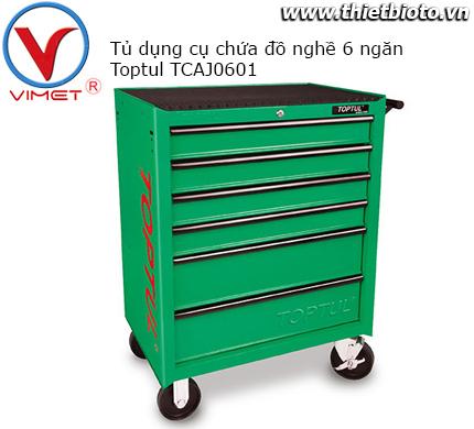 Tủ dụng cụ 6 ngăn chứa đồ nghề Toptul TCAJ0601
