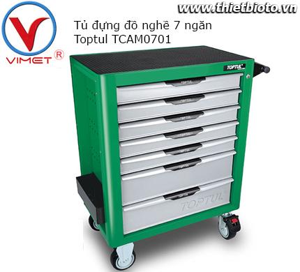Tủ đựng dụng cụ 7 ngăn Toptul TCAM0701