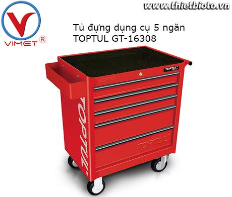Tủ đựng dụng cụ 5 ngăn Toptul GT-16308