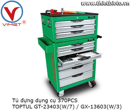 Tủ đựng dụng cụ 370PCS Toptul GT-23403 GX-13603