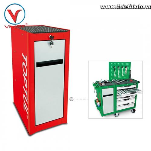 Tủ phụ ghép bên cạnh tủ 7 ngăn màu đỏ TBAH0102