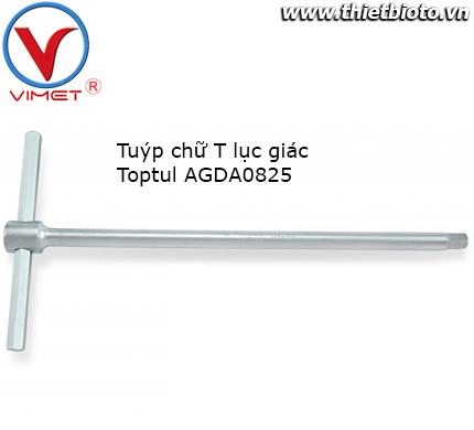 Tuýp chữ T đầu lục giác Toptul AGDA0825